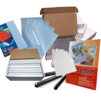 Office Supplies Plastic Binding Combs Binding Wires Laminating